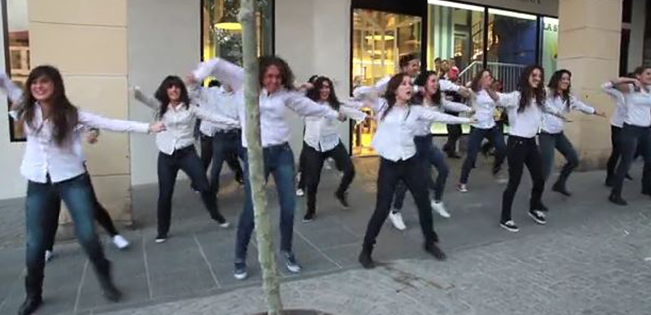 flashmob marketing
