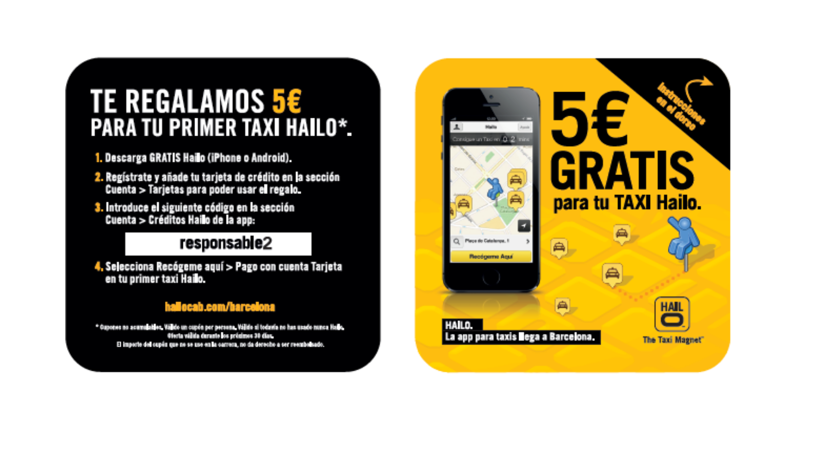 Proyecto: Campaña Promocional – BRANDING hailo | Belowactions street marketing Barcelona