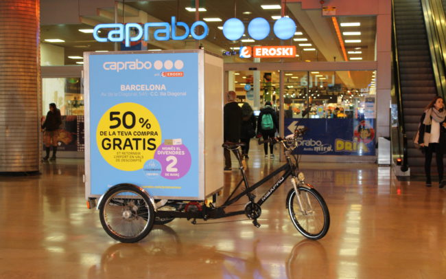CAPRABO EROSKI | | Belowactions street marketing Barcelona